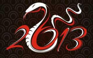 Год черной водяной змеи