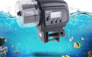 Автоматическая кормушка для аквариумных рыб