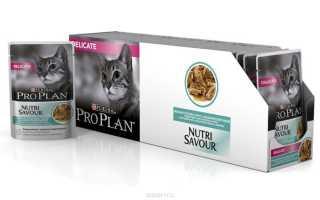 Проплан для кошек виды